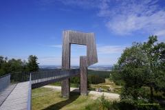 Klangfigur auf dem Erbeskopf / Nationalpark Hunsrück