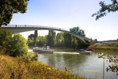 Dykerhoff-Brücke bei Wiesbaden-Schierstein