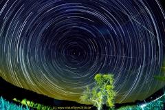 Sternenspuren / Startrials am nördlichen Himmel