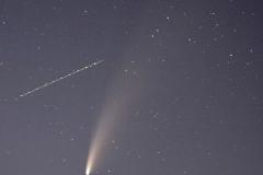 Komet Neowise über Kastel-Staadt
