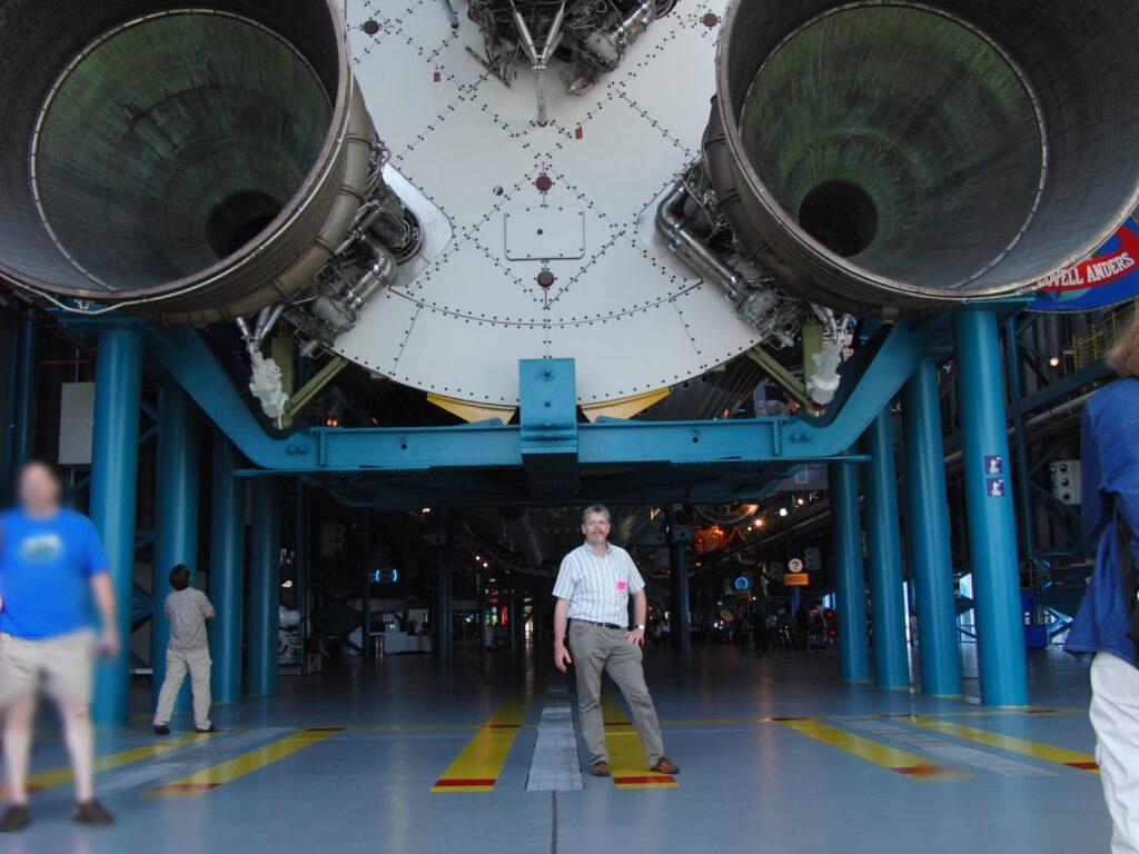 Saturn V Raketenantrieb